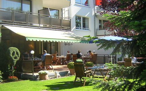 RESTAURANT IN THE HOTEL HAUS AM ZOO - accomodation in dusseldorf