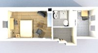furnished studio
