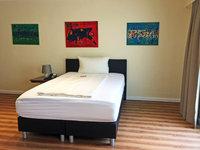 Bett im Monteurzimmer