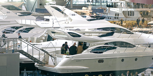 BOAT FAIR AT THE MESSE DUESSELDORF WITH HOTEL BOOKING - exhibition in düsseldorf