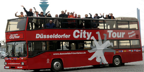 HOPON HOPOFF CITYTOUR – DUSSELDORF SIGHTSEEING TOUR - packages