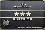 Auszeichnung 3-Sterne-Superior Hotel