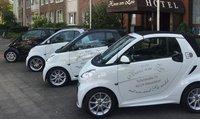 Hotel mit Elektroauto für Hotelgäste in Düsseldorf